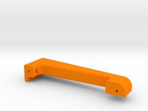 XL - Strebe Steuerung links in Orange Processed Versatile Plastic