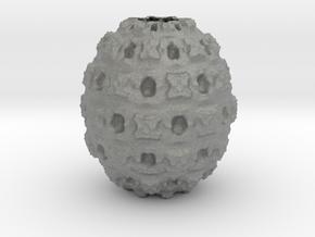Vase 4516F in Gray PA12