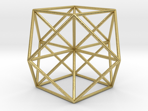 cuboctahedron, Vector Equilibrium in Natural Brass