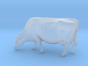 1/64 Jersey Cow Grazing in Smooth Fine Detail Plastic