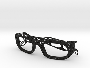 frame and temples in Black Natural Versatile Plastic