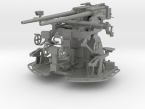 37 mm Flak C/30 auf Zwillingslaffette scale 1:50 in Gray PA12