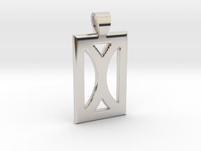 Your month [pendant] in Platinum