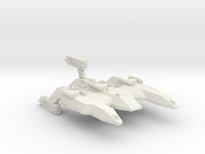 3788 Scale Lyran Firecat Battle Control Ship CVN in White Natural Versatile Plastic
