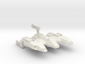 3788 Scale Lyran Siberian Lion Space Control Ship in White Natural Versatile Plastic