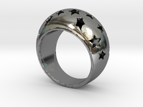 Anello All-Stars Fedina in Fine Detail Polished Silver