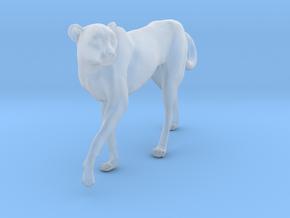 Cheetah 1:32 Walking Female 3 in Smooth Fine Detail Plastic