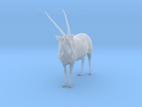 Gemsbok 1:20 Standing Male in Smooth Fine Detail Plastic