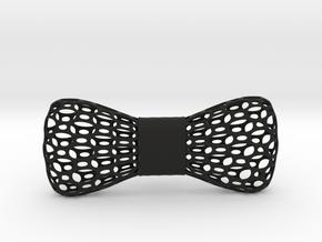 bowtie  in Black Natural Versatile Plastic