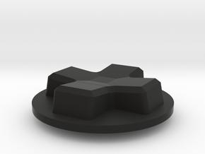 Lucky 13 Jr. - D-Pad in Black Premium Versatile Plastic
