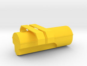 Güllefass Tank in Yellow Processed Versatile Plastic