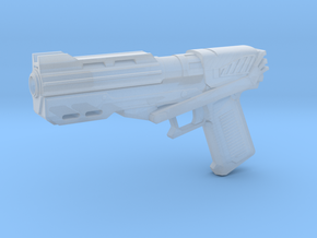 "DC-15s Sidearm for 6"" figures in Smooth Fine Detail Plastic"