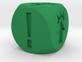 ! - Special Orders Dice in Green Processed Versatile Plastic