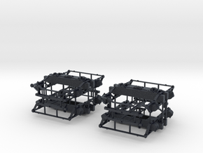 "On3 DSP&P Type ""A""/Litchfield Trucks, 2 pair in Black PA12"
