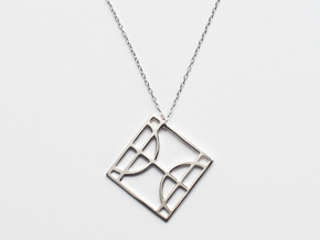 Pisces I in Polished Silver