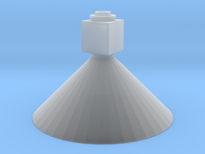 1/64 18' Tower Bottom Unload Cone in Smooth Fine Detail Plastic