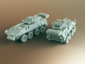 LAV III Kodiak ICV Scale: 1:200 in Smooth Fine Detail Plastic