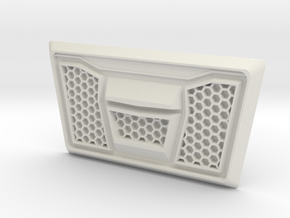 Losi Rock Rey Grille in White Natural Versatile Plastic