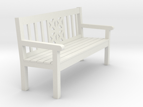 Gartenbank Spur 0 ( 1 : 45) in White Natural Versatile Plastic