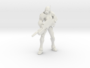Enforcer Marksman in White Natural Versatile Plastic