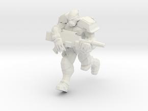 Enforcer Marine 1  in White Natural Versatile Plastic