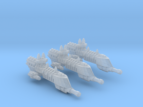 BFG Imperial frigate Firestorm Class fleet scale in Smooth Fine Detail Plastic