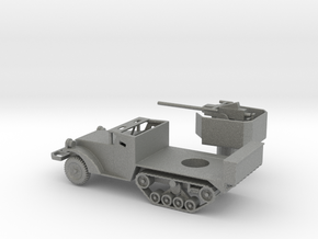 1/87 Scale M3 40mm Halftrack in Gray Professional Plastic