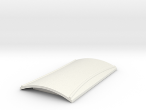 Roof for goods van & brake van (Type 1) in White Natural Versatile Plastic