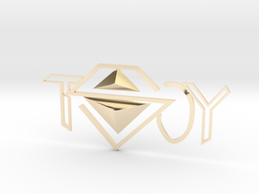 TSOY3 in 14k Gold Plated Brass