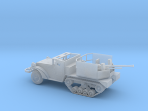 1/100 Scale M15A1 HalfTrack with 37mm AA Gun in Smooth Fine Detail Plastic