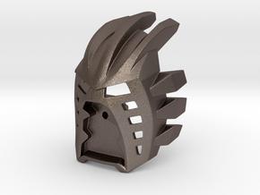 [Titan] Kanohi Avohkii in Polished Bronzed-Silver Steel