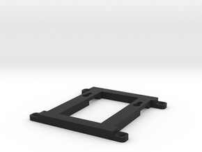 Mini PC wall mount in Black Natural Versatile Plastic