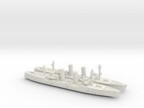 Dalmacija 1/1800 x2 in White Natural Versatile Plastic