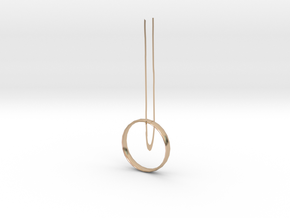 necklace in 14k Rose Gold: Small