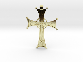 A Cross for All Christians in 18K Yellow Gold