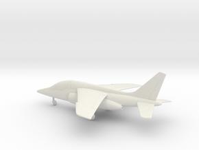 Dassault Dornier Alpha Jet E in White Natural Versatile Plastic: 1:100