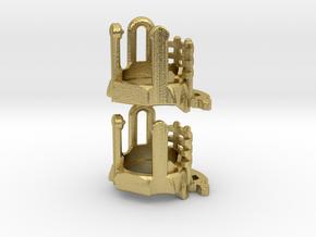 KR Luke Hero - Part3 Lightsaber Chassis in Natural Brass