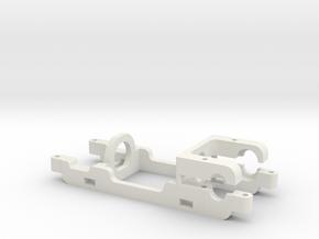 Carrera E200 motor mount Slot.it compatible HRS-2 in White Natural Versatile Plastic