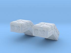 Conformal Missile Packs in Smoothest Fine Detail Plastic