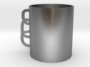 Mug in Natural Silver: Small