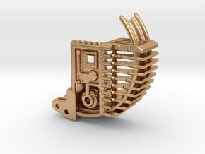 KR-Sabers - Thermal Detonator Chassis Part2 in Natural Bronze