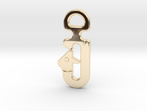 SL HOOK UNIVERSAL in 14K Yellow Gold