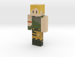 DanTDM   Minecraft toy in Natural Full Color Sandstone