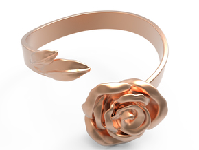 Fantasia: la Rose_size S in 14k Rose Gold Plated Brass