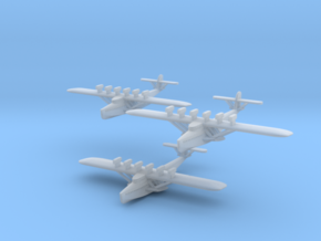 "Dornier Do X ""in flight"" Three Pack in Smooth Fine Detail Plastic: 1:1250"