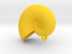 Ursala Shell from The Little Mermaid in Yellow Processed Versatile Plastic