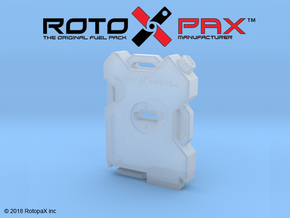 BR10005 RotopaX 2 Gal fuelpack in Smooth Fine Detail Plastic