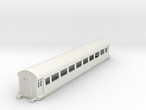 o-43-gcr-barnum-open-3rd-saloon-coach in White Natural Versatile Plastic