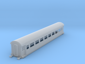 o-148fs-gcr-barnum-open-3rd-saloon-coach in Smooth Fine Detail Plastic