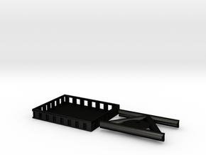 1/24 Crawler RACK for AMBUSH and G scale crawlers in Matte Black Steel